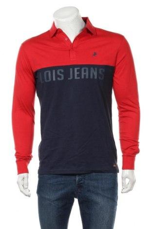 Мъжка блуза Lois, Размер M, Цвят Син, Памук, Цена 18,88лв.