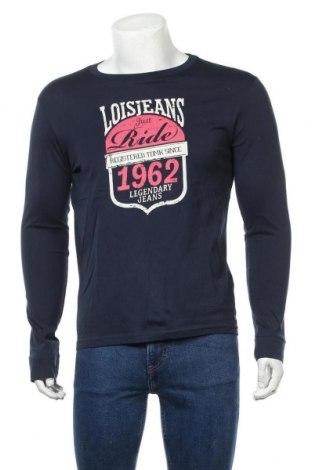 Мъжка блуза Lois, Размер M, Цвят Син, Памук, Цена 20,65лв.