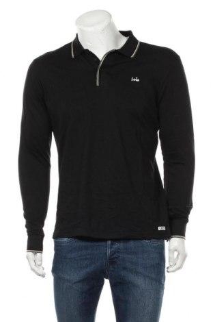 Мъжка блуза Lois, Размер M, Цвят Черен, Памук, Цена 14,75лв.