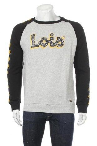 Мъжка блуза Lois, Размер M, Цвят Сив, Памук, Цена 24,15лв.