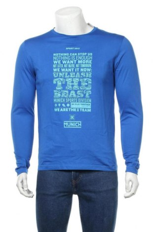 Мъжка блуза Munich, Размер S, Цвят Син, Цена 12,88лв.