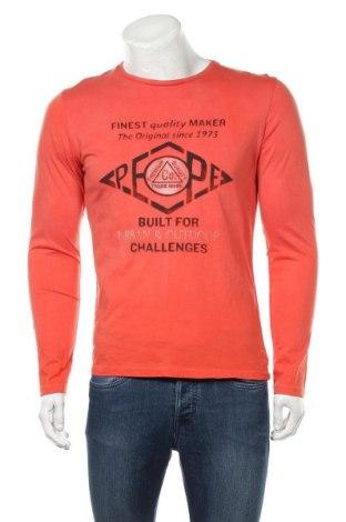 Ανδρική μπλούζα Pepe Jeans, Μέγεθος M, Χρώμα Πορτοκαλί, Βαμβάκι, Τιμή 33,49€