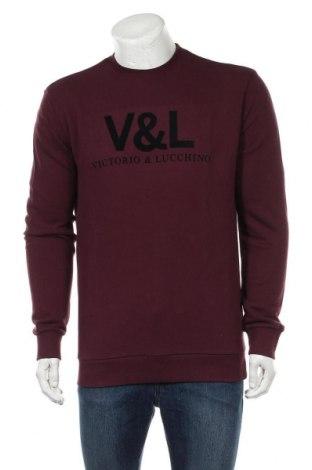 Ανδρική μπλούζα Victorio & Lucchino, Μέγεθος L, Χρώμα Βιολετί, 100% βαμβάκι, Τιμή 22,81€