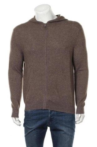 Мъжка жилетка Authentic Cashmere, Размер L, Цвят Кафяв, Кашмир, Цена 85,05лв.