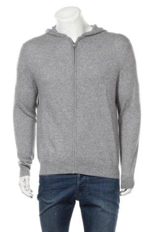 Мъжка жилетка Authentic Cashmere, Размер L, Цвят Сив, Кашмир, Цена 85,05лв.