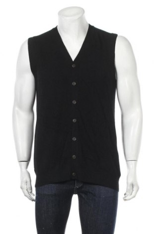 Ανδρική ζακέτα Authentic Cashmere, Μέγεθος L, Χρώμα Μαύρο, Κασμίρι, Τιμή 22,41€
