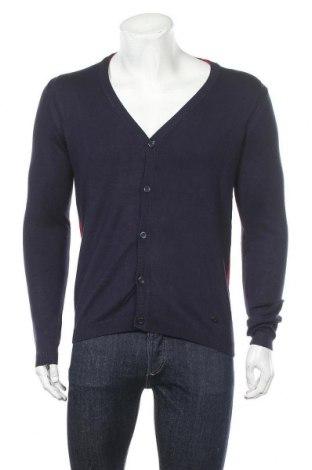 Ανδρική ζακέτα Gaudi Jeans, Μέγεθος M, Χρώμα Μπλέ, 70% βισκόζη, 30% πολυαμίδη, Τιμή 48,54€