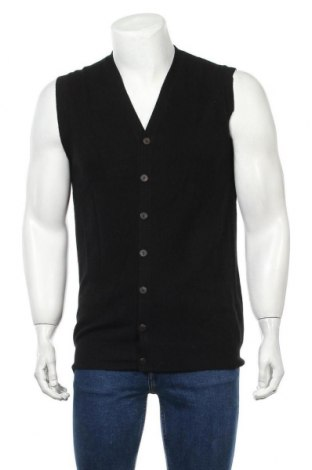 Ανδρική ζακέτα Perfect Cashmere, Μέγεθος L, Χρώμα Μαύρο, Κασμίρι, Τιμή 22,41€