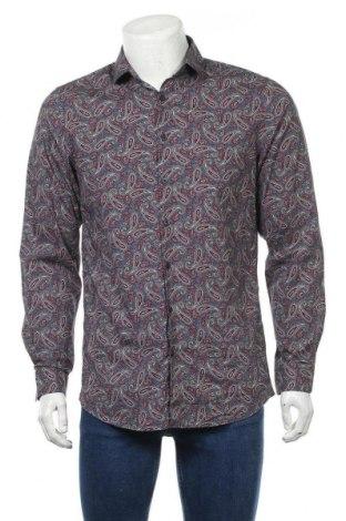 Мъжка риза Angelo Litrico, Размер M, Цвят Многоцветен, Памук, Цена 8,03лв.