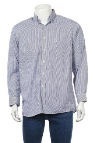 Мъжка риза Arrow, Размер L, Цвят Син, 55% памук, 45% полиестер, Цена 4,73лв.