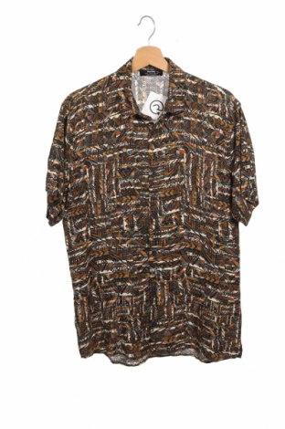 Ανδρικό πουκάμισο Bershka, Μέγεθος S, Χρώμα Πολύχρωμο, Βισκόζη, Τιμή 6,50€