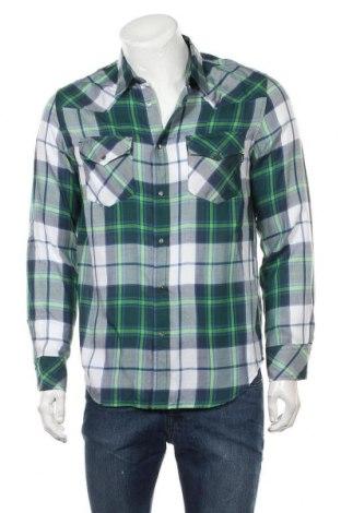 Мъжка риза Diesel, Размер M, Цвят Многоцветен, Памук, Цена 42,25лв.