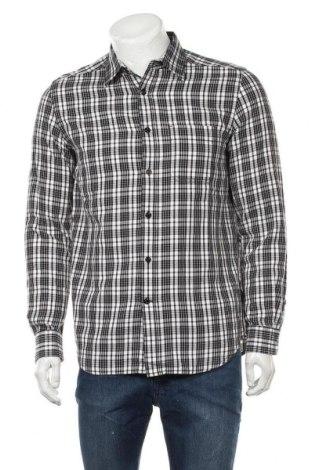 Мъжка риза Diesel, Размер M, Цвят Черен, Памук, Цена 42,25лв.