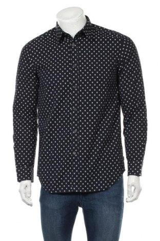 Мъжка риза Diesel, Размер M, Цвят Син, 100% памук, Цена 42,25лв.