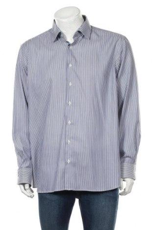 Мъжка риза Eterna, Размер XL, Цвят Син, Памук, Цена 22,40лв.