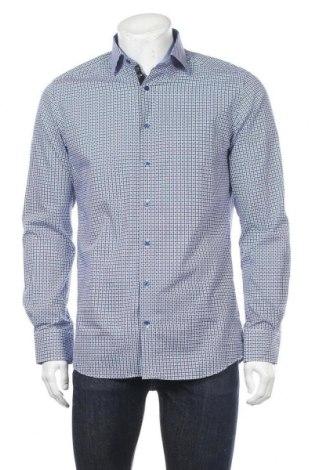 Мъжка риза Eterna, Размер S, Цвят Син, Памук, Цена 17,64лв.