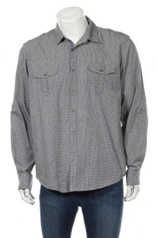 Мъжка риза INC International Concepts, Размер L, Цвят Сив, 55% памук, 45% полиестер, Цена 5,10лв.