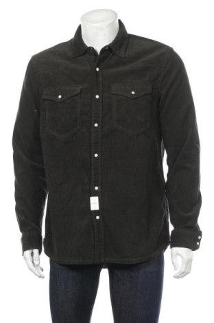 Мъжка риза Lft, Размер XL, Цвят Зелен, 100% памук, Цена 28,77лв.
