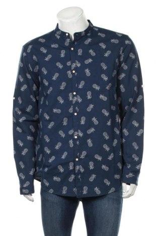 Мъжка риза Lft, Размер XL, Цвят Син, 70% памук, 30% лен, Цена 26,40лв.