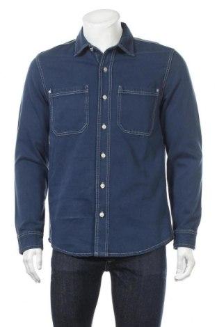 Мъжка риза Lft, Размер M, Цвят Син, Памук, Цена 25,32лв.