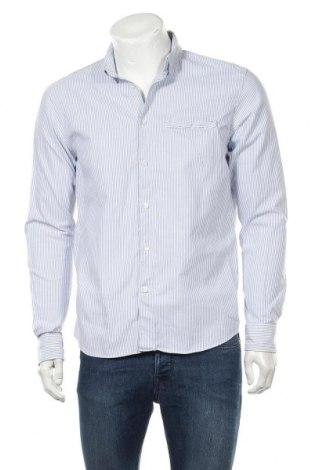 Мъжка риза Mads Norgaard, Размер M, Цвят Бял, Памук, Цена 15,84лв.