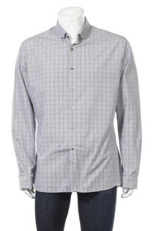 Мъжка риза Marks & Spencer Limited Collection, Размер XXL, Цвят Син, 55% памук, 45% полиестер, Цена 11,34лв.