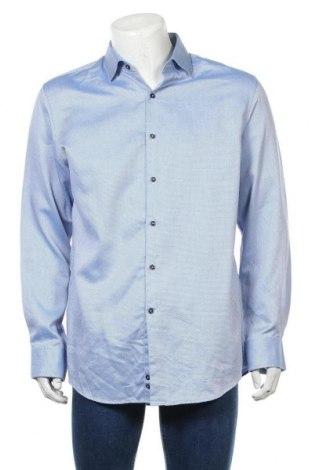 Мъжка риза Pierre Cardin, Размер XL, Цвят Син, 100% памук, Цена 25,02лв.