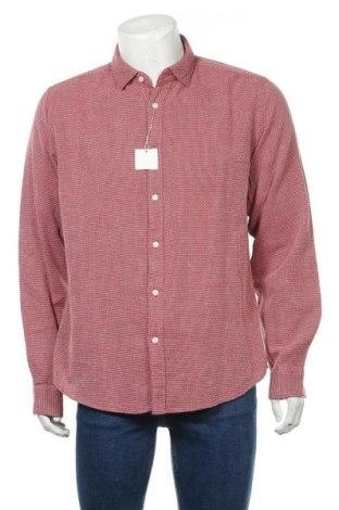 Ανδρικό πουκάμισο Springfield, Μέγεθος XL, Χρώμα Κόκκινο, Βαμβάκι, Τιμή 22,81€