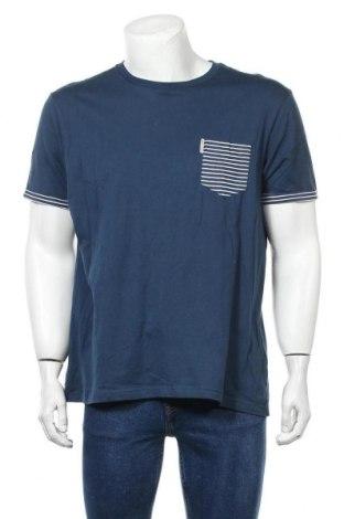 Мъжка тениска Ben Sherman, Размер XL, Цвят Син, Памук, Цена 49,56лв.