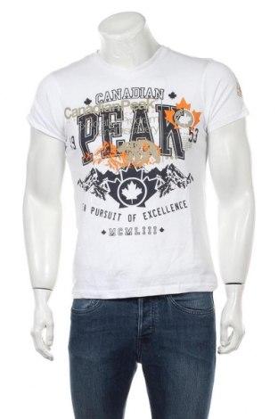 Ανδρικό t-shirt Canadian Peak, Μέγεθος S, Χρώμα Λευκό, 100% βαμβάκι, Τιμή 29,73€