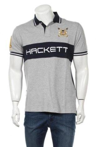 Pánské tričko  Hackett, Velikost M, Barva Šedá, Bavlna, Cena  942,00Kč