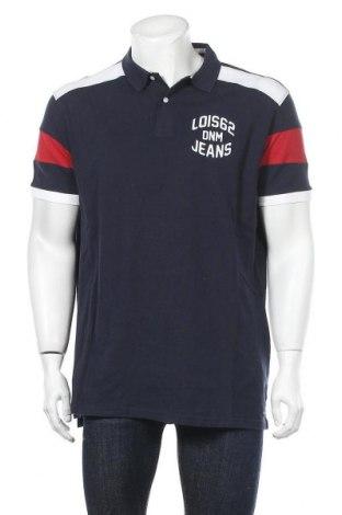 Tricou de bărbați Lois, Mărime 3XL, Culoare Albastru, 100% bumbac, Preț 108,56 Lei