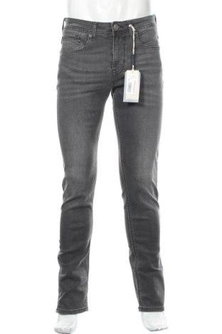Мъжки дънки Gaudi Jeans, Размер M, Цвят Сив, 98% памук, 2% еластан, Цена 66,72лв.