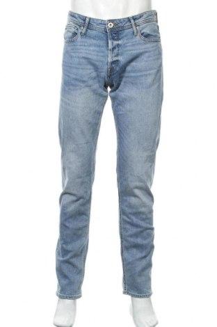 Мъжки дънки Jack & Jones, Размер M, Цвят Син, 85% памук, 13% полиестер, 2% еластан, Цена 19,53лв.