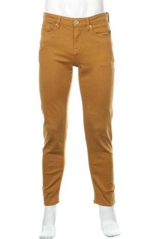 Мъжки дънки Lft, Размер S, Цвят Оранжев, 99% памук, 1% еластан, Цена 27,44лв.