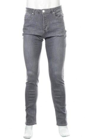 Мъжки дънки Lois, Размер M, Цвят Сив, 85% памук, 14% полиестер, 1% еластан, Цена 31,15лв.