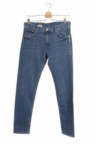 Мъжки дънки Mtwtfss Weekday, Размер M, Цвят Син, 99% памук, 1% еластан, Цена 40,05лв.
