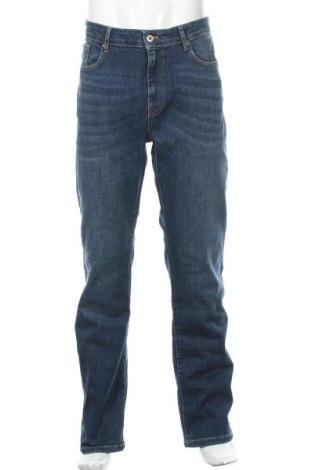 Мъжки дънки Pier One, Размер XL, Цвят Син, 99% памук, 1% еластан, Цена 46,20лв.
