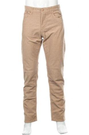 Мъжки джинси Cortefiel, Размер L, Цвят Бежов, 98% памук, 2% еластан, Цена 31,00лв.