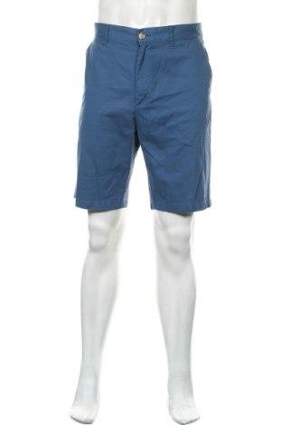 Ανδρικό κοντό παντελόνι, Μέγεθος L, Χρώμα Μπλέ, Βαμβάκι, Τιμή 12,37€