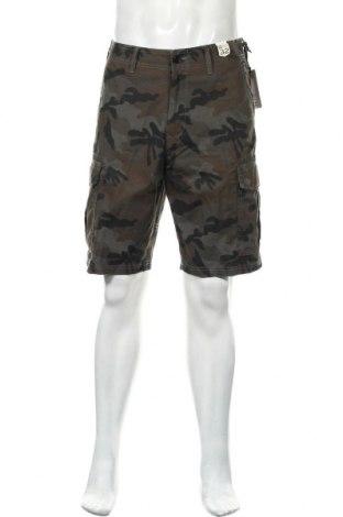 Ανδρικό κοντό παντελόνι Billabong, Μέγεθος M, Χρώμα Πράσινο, Βαμβάκι, Τιμή 34,41€