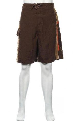 Мъжки къс панталон Canyon River, Размер L, Цвят Кафяв, Полиестер, Цена 4,46лв.