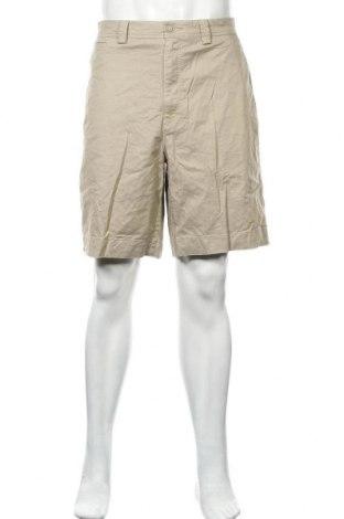 Мъжки къс панталон Kirkland, Размер L, Цвят Бежов, 52% памук, 45% лиосел, 3% еластан, Цена 7,01лв.