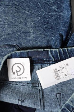 Мъжки къс панталон Lft, Размер S, Цвят Син, 80% памук, 18% полиестер, 2% еластан, Цена 19,74лв.