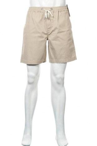 Мъжки къс панталон Lois, Размер M, Цвят Бежов, 98% памук, 2% еластан, Цена 24,15лв.