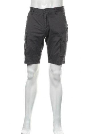 Мъжки къс панталон S.Oliver, Размер S, Цвят Сив, 98% памук, 2% еластан, Цена 17,94лв.