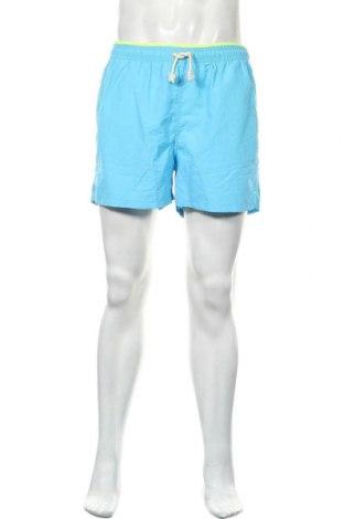 Ανδρικό κοντό παντελόνι Scalpers, Μέγεθος L, Χρώμα Μπλέ, Πολυαμίδη, Τιμή 26,68€