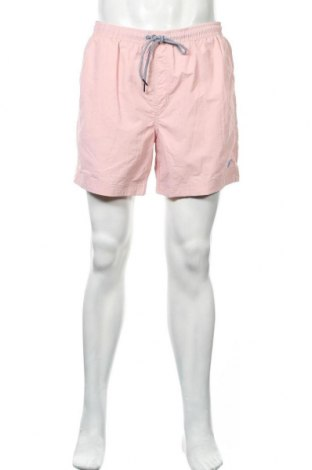 Ανδρικό κοντό παντελόνι Springfield, Μέγεθος XL, Χρώμα Ρόζ , Πολυαμίδη, Τιμή 17,01€