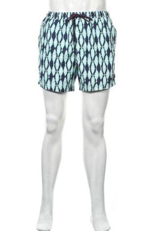 Ανδρικό κοντό παντελόνι Springfield, Μέγεθος L, Χρώμα Πολύχρωμο, Πολυεστέρας, Τιμή 17,01€