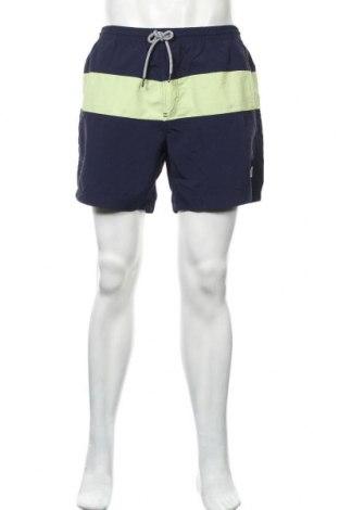 Ανδρικό κοντό παντελόνι Springfield, Μέγεθος XL, Χρώμα Μπλέ, Πολυαμίδη, Τιμή 17,01€